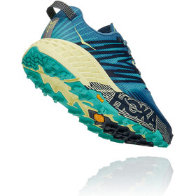 Hoka One One Speedgoat 4 Shoes Women provincial blue/luminary green